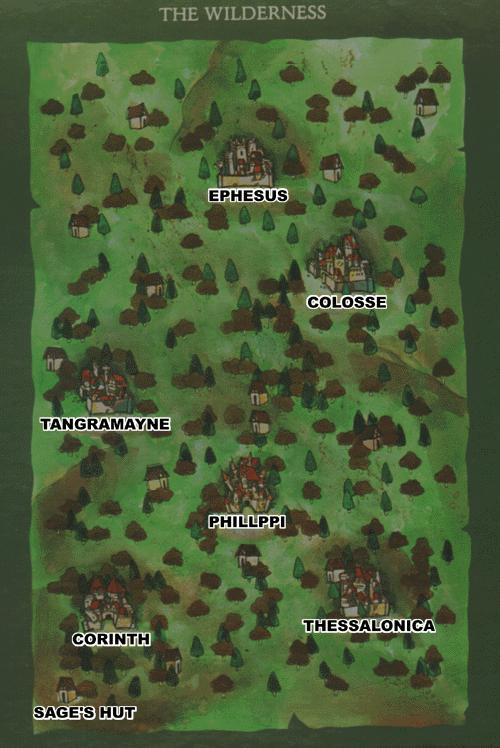 The Adventurers Guild Bard S Tale Ii Maps